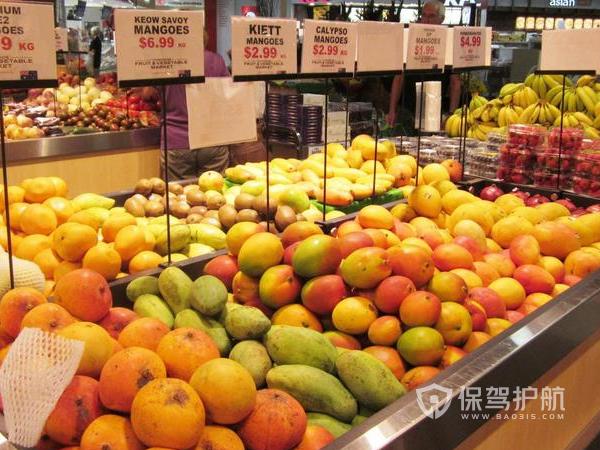水果商店装修效果图-保驾护航