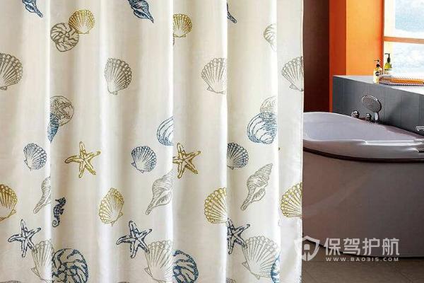 浴室浴帘安装效果图-保驾护航装修网