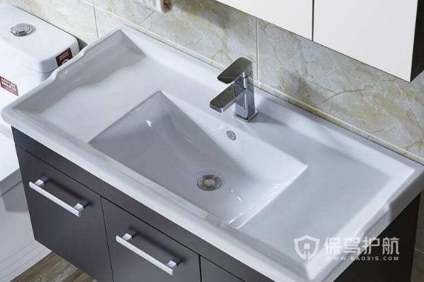 浴室洗脸盆安装效果图-保驾护航装修网