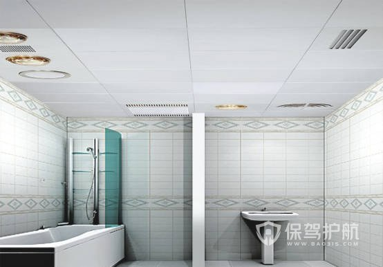 浴室风暖浴霸效果图-保驾护航装修网