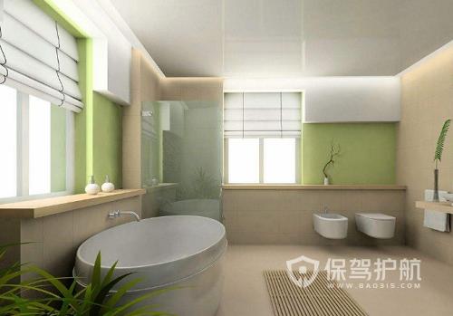浴室效果图-保驾护航