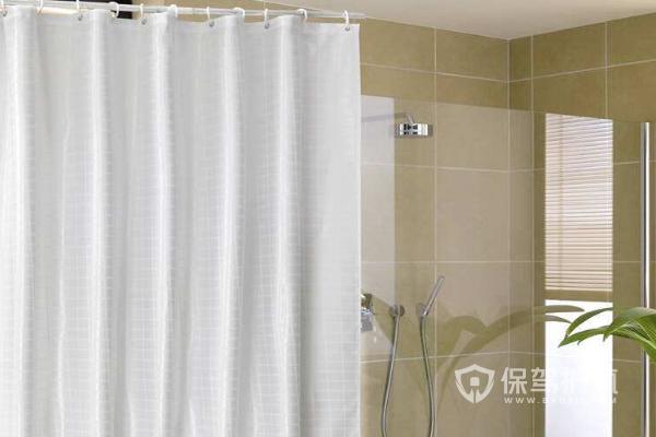 卫浴浴帘安装图-保驾护航装修网