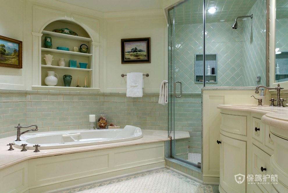 欧式淋浴房效果图-保驾护航装修网