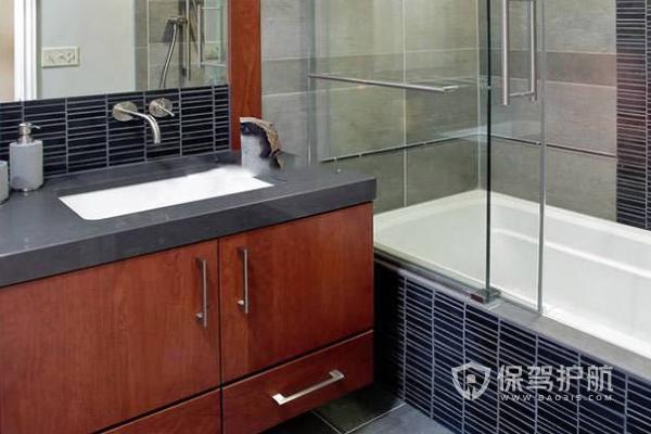浴室推拉门设计效果图-保驾护航装修网