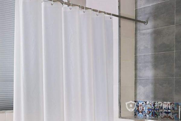 浴帘杆安装方法如何?2019家居浴帘杆安装效果图
