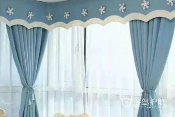 2019窗帘帘头款式图片-门窗装修