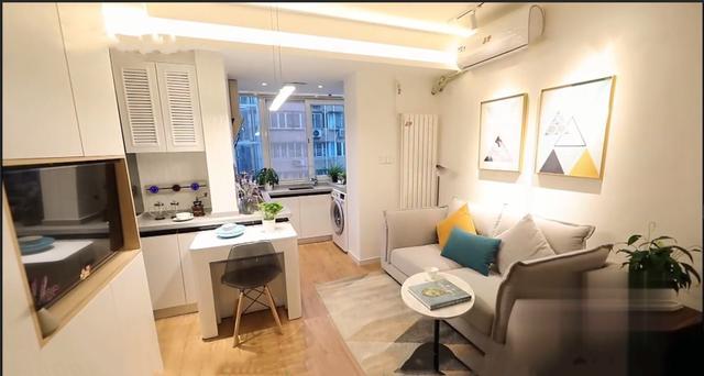 北京皇城脚6口之家,马桶里洗脸,床铺边洗内衣,39平改造4室2厅