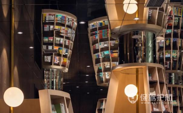 """充满艺术格调的书店""""重庆钟书阁"""",书店装修注意事项"""