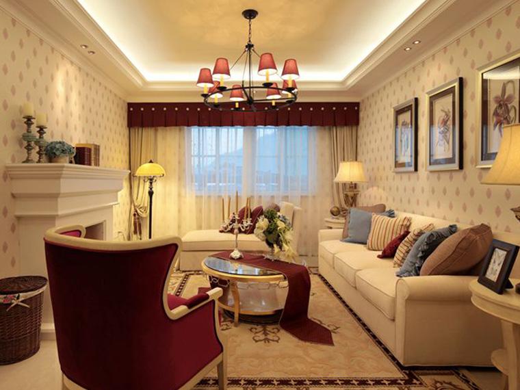 五象明珠美式四房一百一十八平装修案例