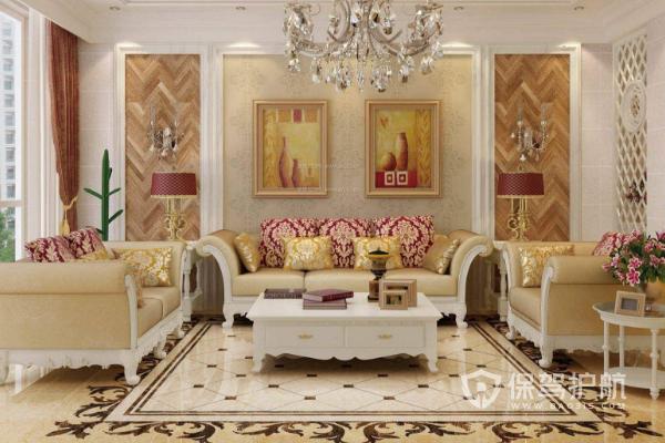 客厅装地板注意点有哪些?2019客厅装地板效果图
