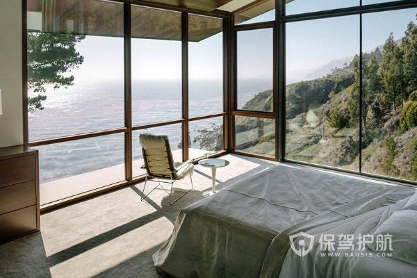 卧室玻璃隔墙装修效果图-保驾护航装修网
