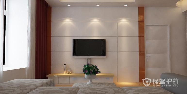 客厅暗门一体电视墙装修技巧,电视墙暗门效果图