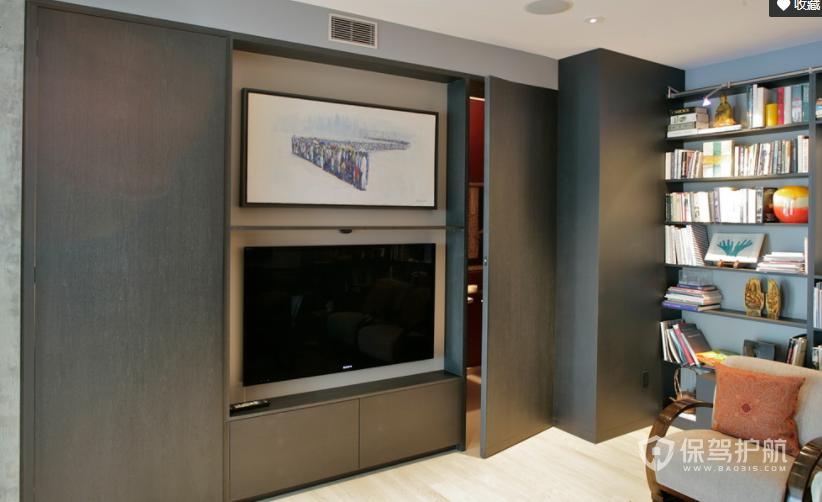 最新隐形电视墙效果图,隐形电视墙安装注意事项
