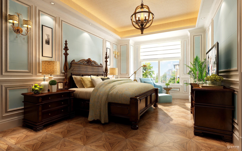欧式卧室集成墙面装修效果图-保驾护航装修网
