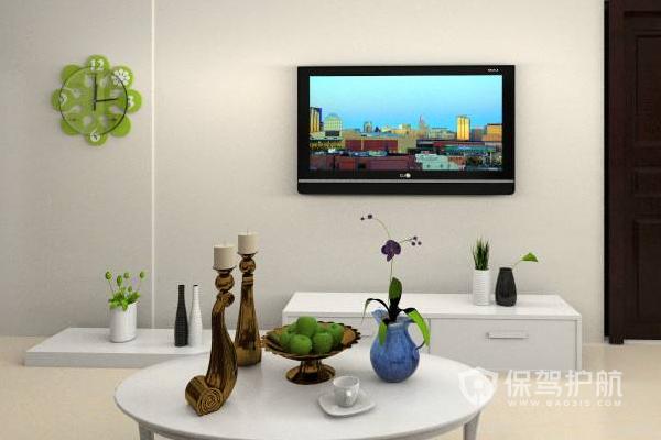 不做电视墙怎么装饰?不做电视墙装饰效果图