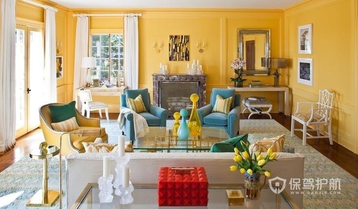 客廳東墻適合什么顏色?客廳墻面顏色有什么講究?