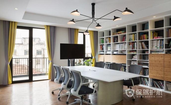 创意吊灯现代简约开放式办公室图