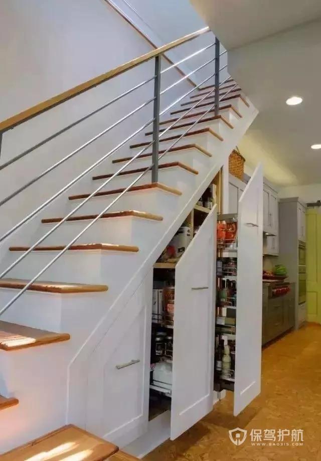 楼梯利用-保驾护航装修网
