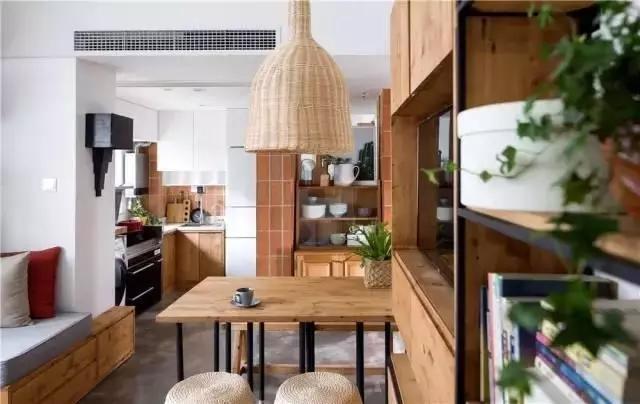 38㎡小戶型裝修改造案例,家具建材自己搞定,小戶型成功逆襲!
