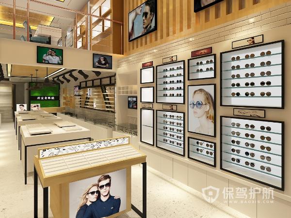 时尚眼镜店如何进行设计?时尚眼镜店设计方案