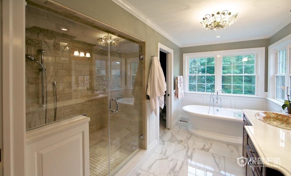 浴室瓷砖发黄怎么清洗?浴室瓷砖如何保养?-浴室装修