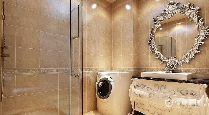 2019新古典浴室装修协议范本-浴室装修合同