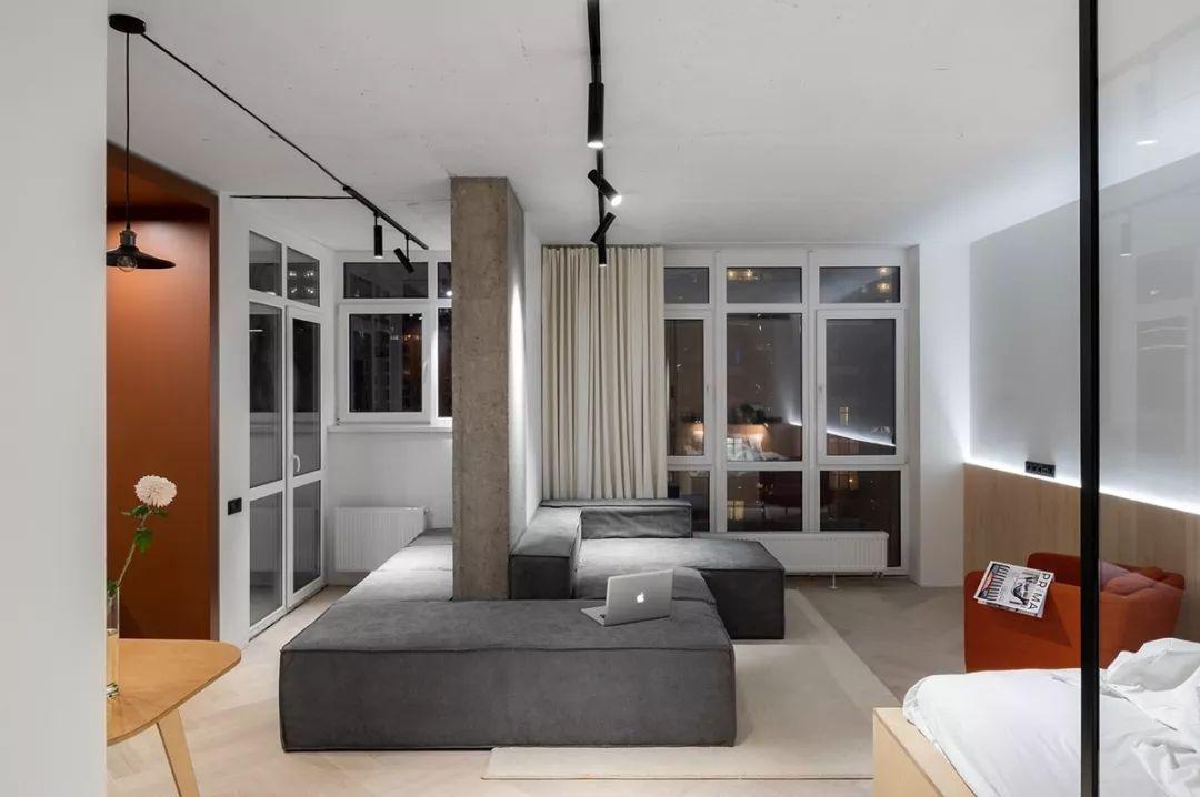 50㎡公寓装修设计,这样装啥功能都有!