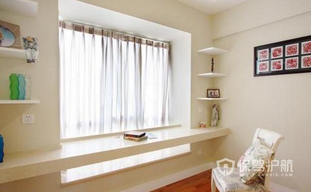适合书房的窗帘有哪些?书房窗帘装修效果图