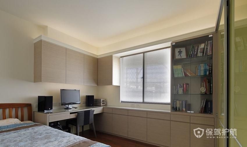 卧室带书房设计效果图-保驾护航装修网