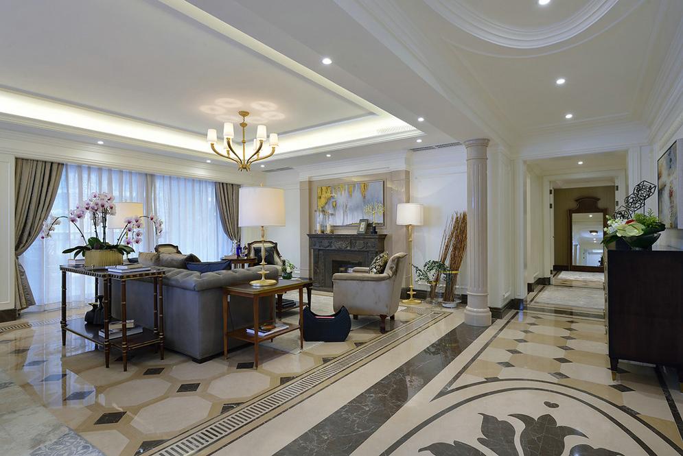 客厅样板装修有哪些技巧,让我们房子整体高大上!