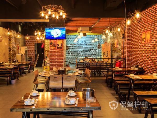 75平米<a  href='http://xiaoguo.bao315.com/dantu/dianmianxiaoguotu/kauicandian'style='color:blue'>快餐店装修效果图</a>-保驾护航