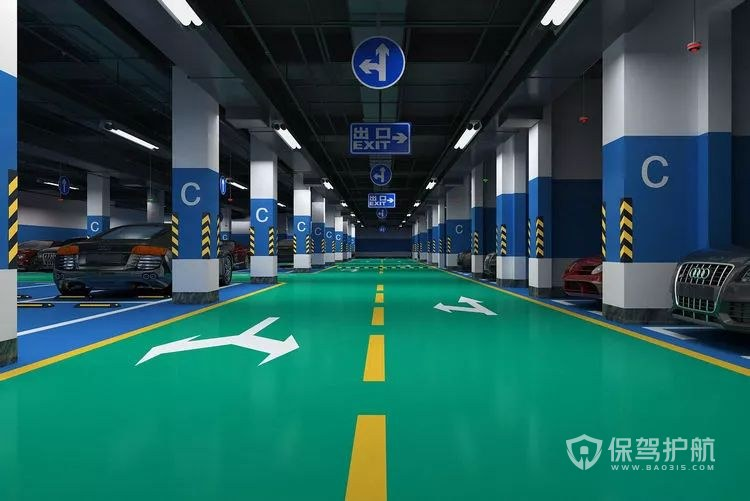 地下车位的正规合同-保驾护航