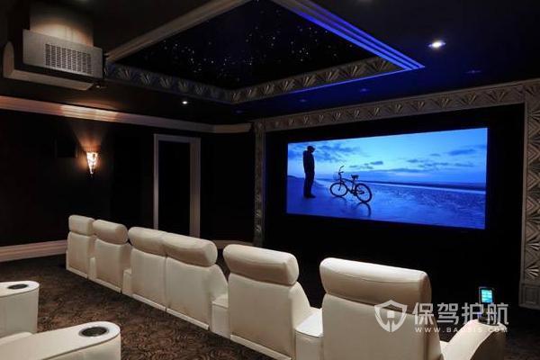 地下家庭影院设计图-保驾护航装修网