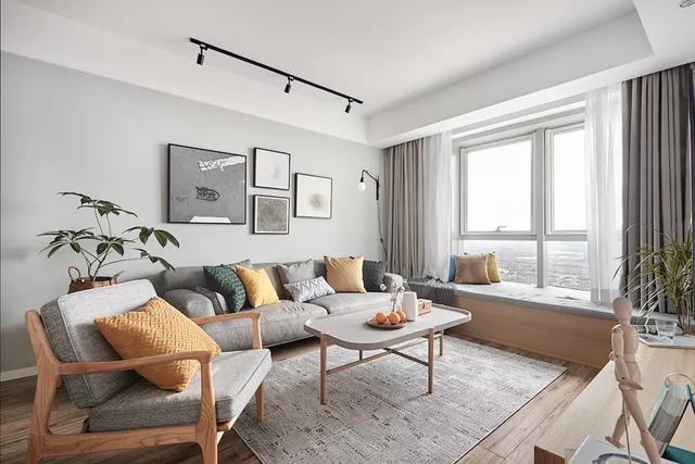 98㎡北欧极简风装修,不动格局,单单软装就让家满满逼格!
