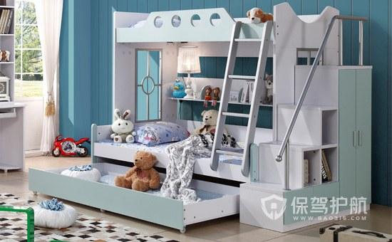 儿童双层床选购图-保驾护航装修网