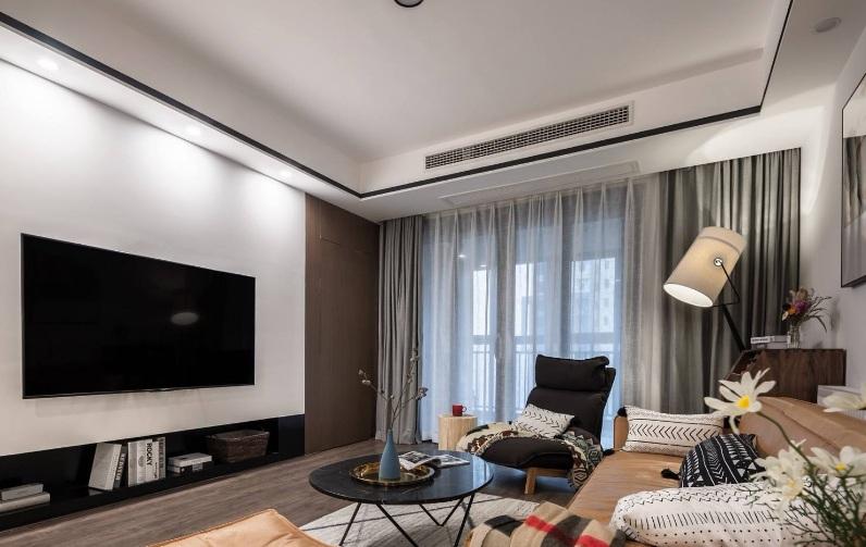 2019年现代简约客厅装修案例【效果图】