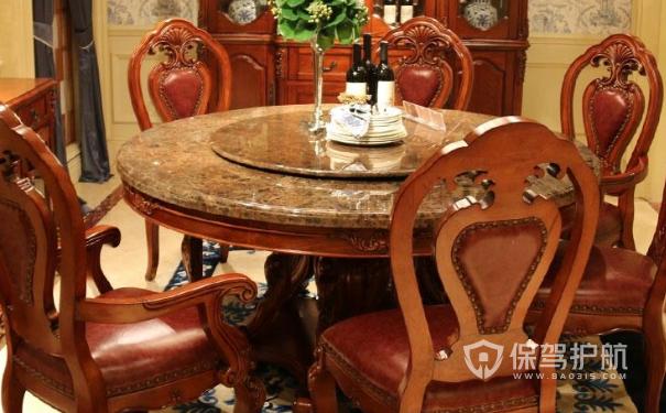 实木餐桌如何选购?实木餐桌装修效果图