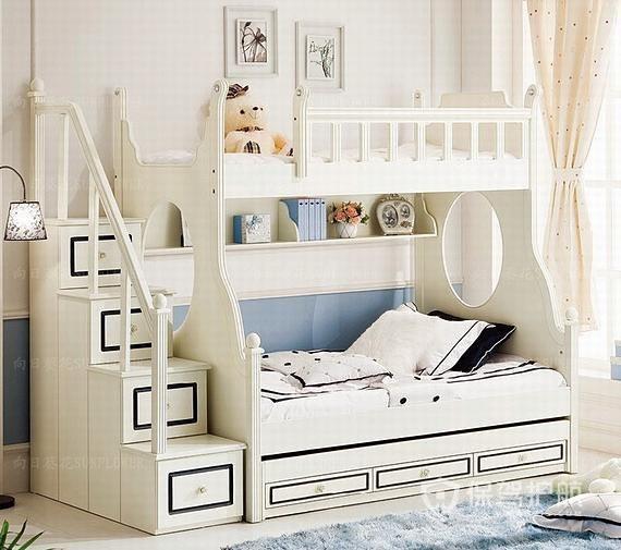 儿童房用上下床好吗?儿童房上下床有什么优缺点?儿童房上下床效果图
