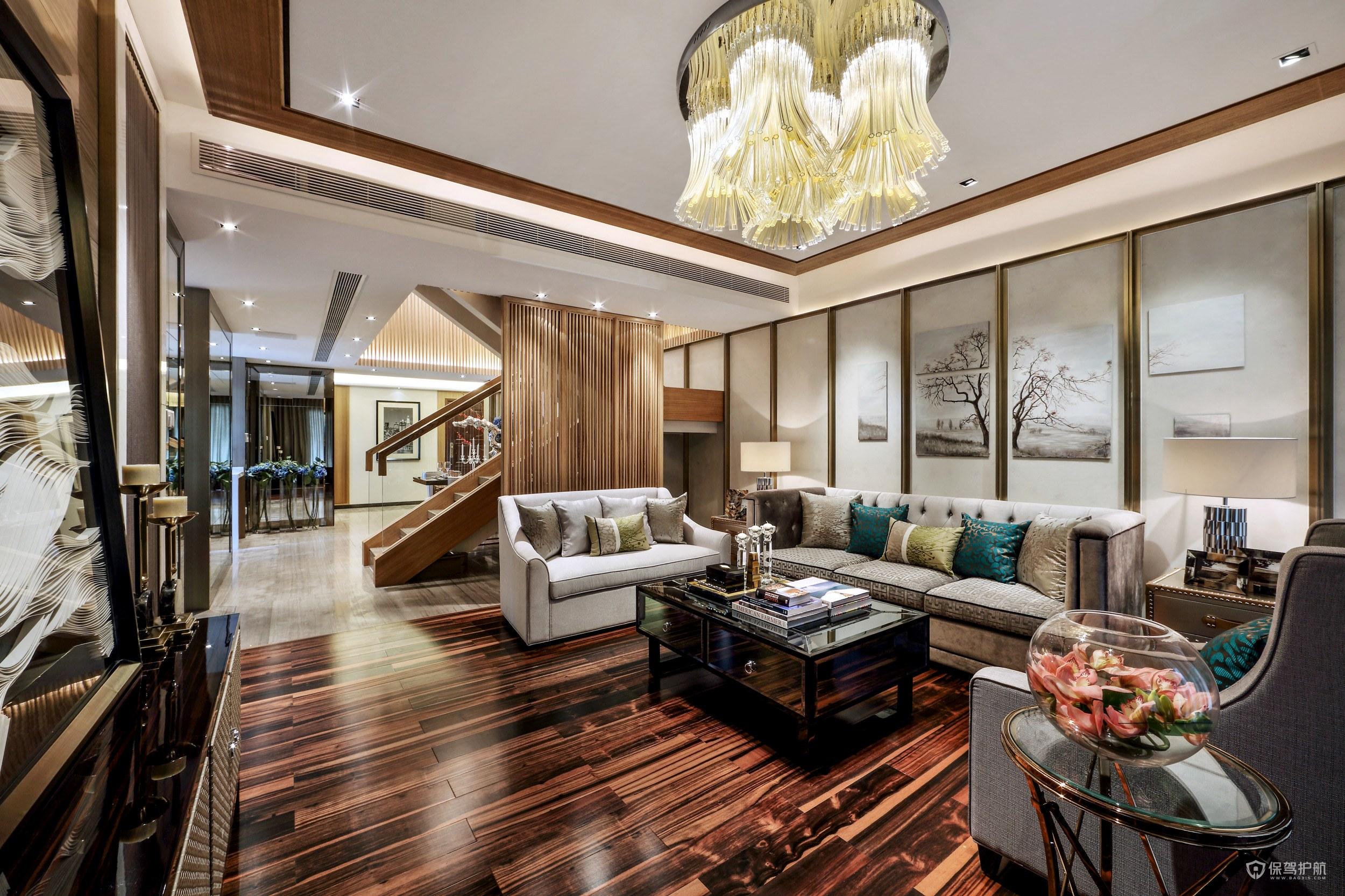 最新中式沙发样式图片大全,中式客厅装修设计效果图