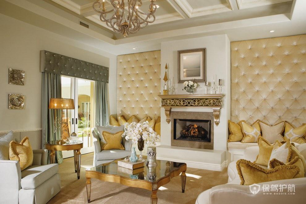欧式客厅怎么装修?有什么技巧?欧式客厅装修效果图