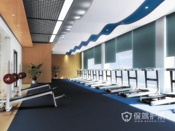 高端健身房怎么设计装修 高端健身房设计装修方案