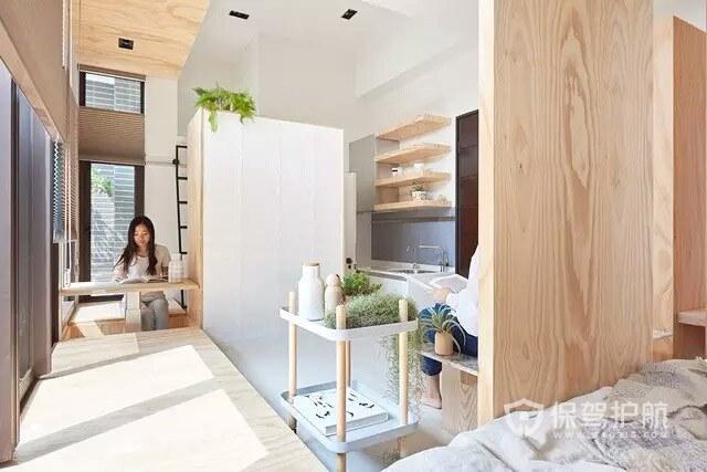 8平米开放式卧室效果图-保驾护航装修网