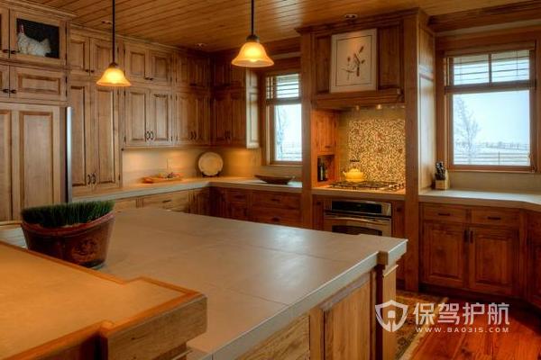 厨房旧房改造效果图-保驾护航装修网