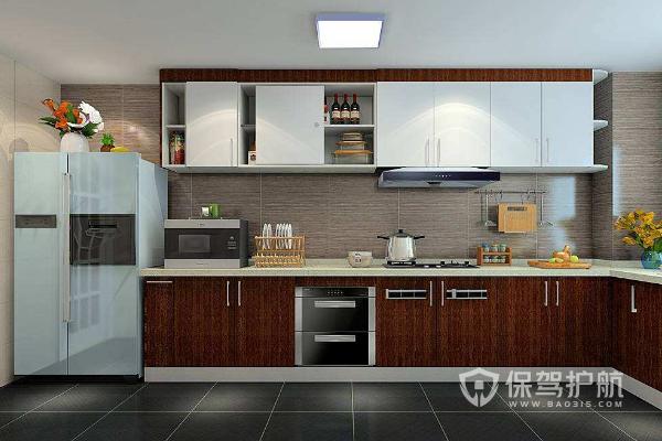开放式厨房装修效果图-保驾护航装修网