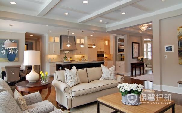 美式客厅装潢怎么做?美式客厅装修效果图
