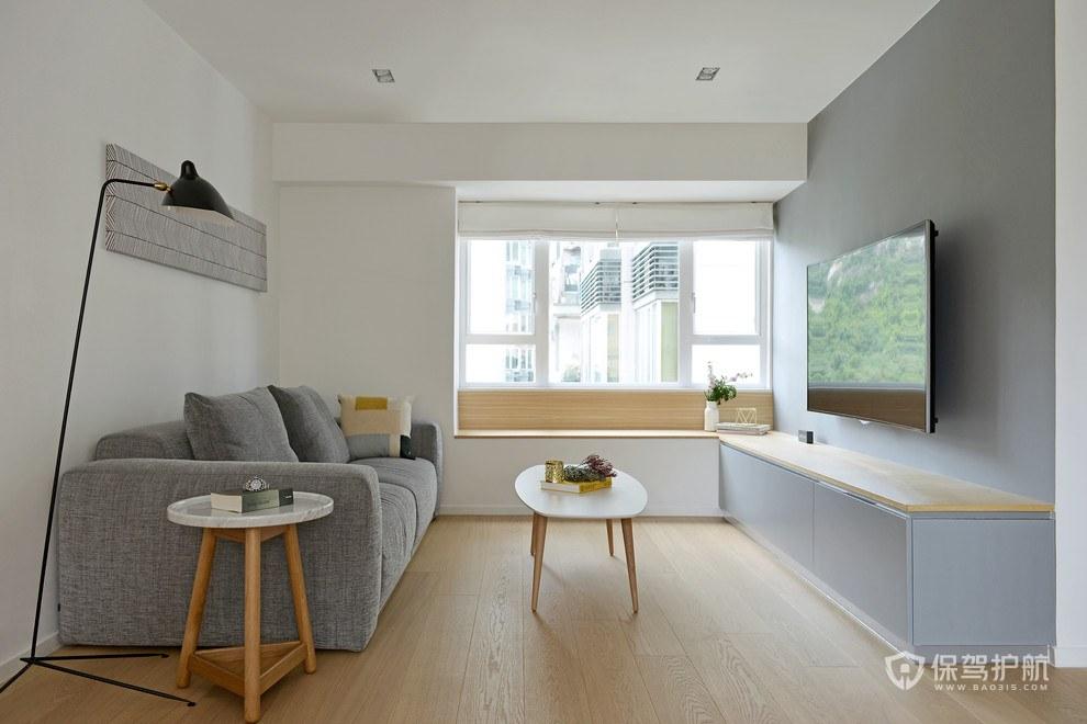 12平米小客厅怎么装修?这样装修小客厅也可以明亮又宽敞