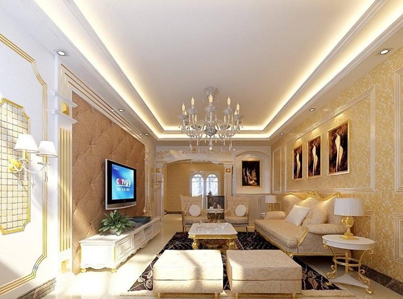 简欧风格电视墙如何装修?简欧风格的家具、地板设计要点是什么?