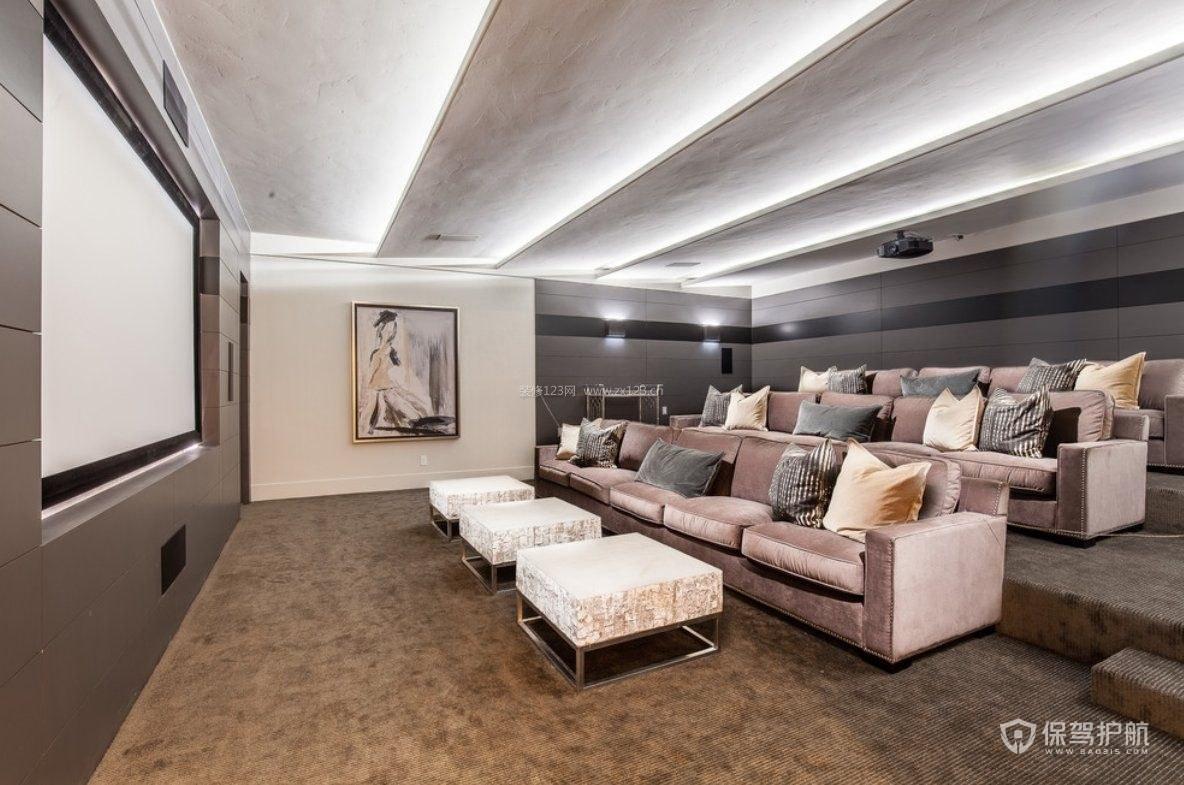 家庭影院沙发和屏幕距离多少合适?投影幕布尺寸多大最好?