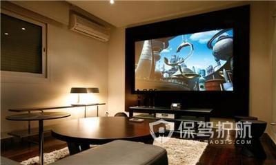 家庭影院屏幕选择哪个好?投影幕布尺寸多大合适?