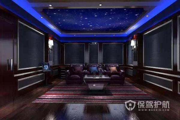 家庭隔音装修_15平米家庭影院设计案例-家庭影院装修_保驾护航装修网